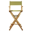 "30"" Director's Chair Natural Frame-Olive Canvas"