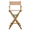 "30"" Director's Chair Natural Frame-Tan Canvas"