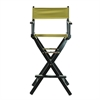 "30"" Director's Chair Black Frame-Olive Canvas"