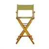 "30"" Director's Chair Honey Oak Frame- Olive Canvas"