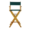 "30"" Director's Chair Honey Oak Frame-Hunter Green Canvas"
