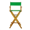 "30"" Director's Chair Honey Oak Frame-Green Canvas"