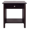 Vanderbilt Night Stand with USB Port- Espresso