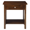 Vanderbilt Night Stand with USB Port-Warm Brown