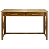 Bay View Console Table-Warm Brown