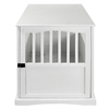Pet Crate End Table-White