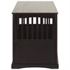 Pet Crate End Table-Espresso