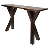 "American Trails Ridgefield Console Table with 1"" Thick Solid Walnut Wood Top"