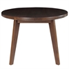 "American Trails Genuine Walnut 24"" Round Coffee Table - 1"" Thick Solid American Walnut Wood Top"