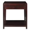Notre Dame Night Stand with Usb Port-Espresso