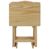 5pcs Tray Table Set-Natural