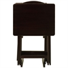 5pcs Tray Table Set-Espresso