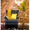 Fairfield Grey Linen Club Chair