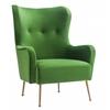 Ethan Green Velvet Chair