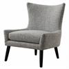 Sullivan Grey Linen Chair