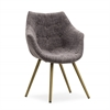 Finn Grey Tweed Chair