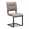 Cora Smokey Taupe Chair set of 2