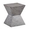 Everly Concrete Square Stool