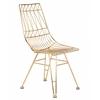 Allure Gold Steel Chair