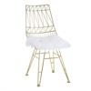 Allure White Sheepskin Seat