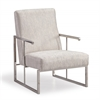 Liv Metallic Grey Chair