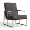 Liv Metallic Black Chair