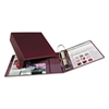 "Avery Heavy-Duty Binder with One Touch EZD Rings, 11 x 8 1/2, 3"" Capacity, Maroon"