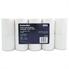 "PM Company Single Ply Thermal Cash Register/POS Rolls, 3 1/8"" x 230 ft., White, 10/Pk"
