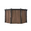 Universal Curtain for Round Gazebo
