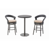 Counter Height Bistro Set Beige