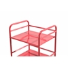 Shelving Unit on Wheels-Red