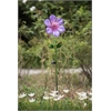 Purple Flower Garden Stake LED Solar