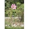 Pink Flower Garden Stake LED Solar