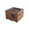 Kent LP Firepit Brown