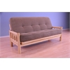 Lodge Frame-Natural Finish-Tantra Chanterelle Mattress