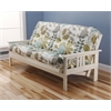 Monterey Frame/Antique White Finish/English Garden Mattress