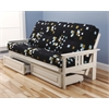 Monterey Frame/Antique White Finish/Modern Blocks Mattress/Storage Drawers