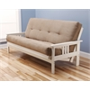 Monterey Frame/Antique White Finish/Suede Peat Mattress