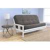 Monterey Frame/Antique White Finish/Tantra Espresso Mattress