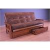 Monterey Frame/Barbados Finsish/Palance Silt Mattress/Storage Drawers