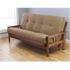 Monterey Frame/Barbados Finsish/Suede Peat Mattress