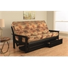 Monterey Frame/Black Finish/Canadian Mattress/Storage Drawers