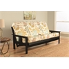 Monterey Frame/Black Finish/English Garden Mattress