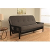 Monterey Frame/Black Finish/Linen Charcoal Mattress