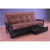 Monterey Frame/Black Finish/Palance Silt Mattress/Storage Drawers