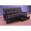 Monterey Frame/Black Finish/Palance Steel Mattress/Storage Drawers