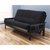 Monterey Frame/Black Finish/Suede Black Mattress