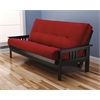 Monterey Frame/Black Finish/Suede Red Mattress