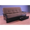 Monterey Frame/Black Finish/Tantra Chanterelle Mattress/Storage Drawers