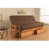 Monterey Frame/Butternut Finish/Linen Cocoa Mattress/Storage Drawers
